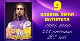 TOP 11.... 9 - GABRIEL OMAR BATISTUTA