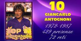 TOP 11... 10 - GIANCARLO ANTOGNONI