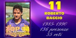 TOP 11.... 11 - ROBERTO BAGGIO