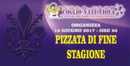 PIZZATA VIOLA DI FINE STAGIONE CALCISTICA!