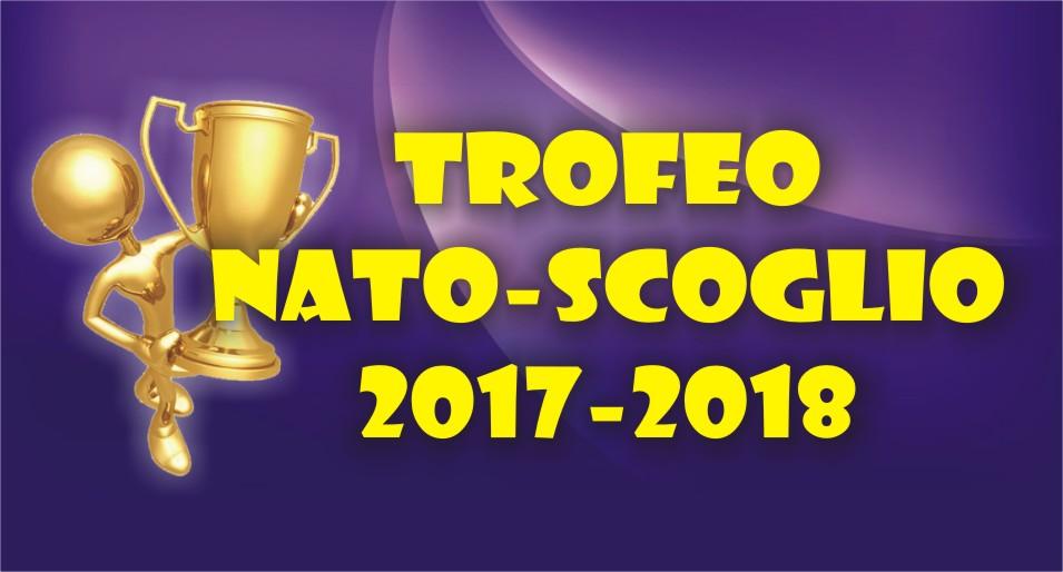 I VINCITORI DEI TROFEI NATO-SCOGLIO, SCOGLIO-NATO E SCOGLIO-ARBITRO 2017/2018