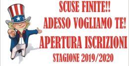 SCOGLIO-NATI VIOLA - APERTURA ISCRIZIONI 2019/2020