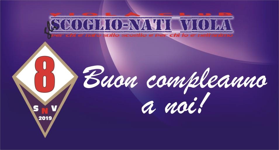 8° COMPLEANNO DEGLI SCOGLIO-NATI VIOLA!