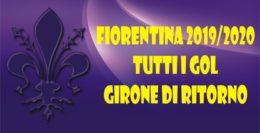 STAGIONE 2019/2020...I GOL DEL GIRONE DI RITORNO!
